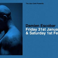 Damien Escobar at Jazz Cafe on Friday 31st January 2020