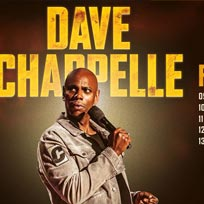 Dave Chapelle at Leicester Square Theatre on Wednesday 19th February 2020