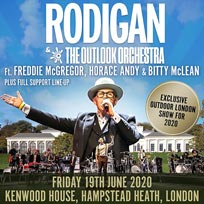 David Rodigan & The Outlook Orchestra at Kenwood House on Friday 19th June 2020