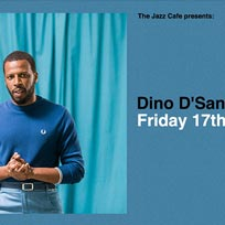 Dino D'Santiago at Jazz Cafe on Friday 17th January 2020