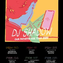 DJ Shadow at Brixton Academy on Saturday 29th February 2020