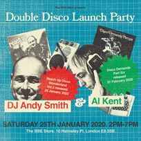 Double Disco Launch Party at The Institute of Light on Saturday 25th January 2020