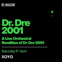 Dr. Dre 2001 - Live Orchestral Rendition at XOYO on Saturday 4th April 2020