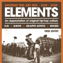 Elements at The Red Lion on Saturday 2nd July 2016