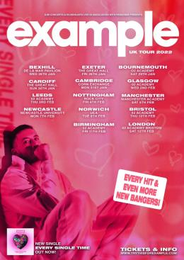 Example at The Forge on Saturday 12th February 2022