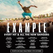 Example at The Forum on Saturday 7th March 2020