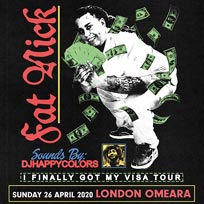 Fat Nick at Omeara on Sunday 26th April 2020