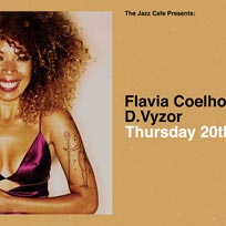 Flavia Coelho at Jazz Cafe on Thursday 20th February 2020