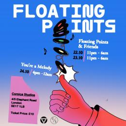 Floating Points & Friends at Corsica Studios on Saturday 23rd October 2021
