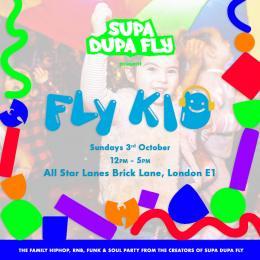 Fly Kid at All Star Lanes (Brick Lane) on Sunday 3rd October 2021
