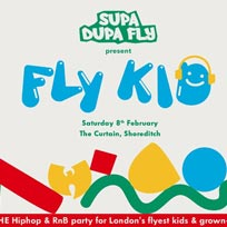 Fly Kid at The Curtain on Saturday 8th February 2020