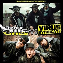 The Four Owls vs Virus Syndicate at Underworld on Saturday 17th September 2016