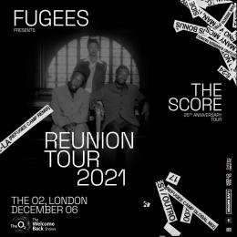 Fugees at The o2 on Monday 6th December 2021