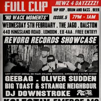 Full Clip at The Jago on Wednesday 5th February 2020