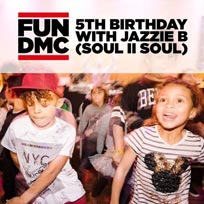 FUN DMC - 5th Birthday Party at Colours Hoxton on Sunday 26th January 2020