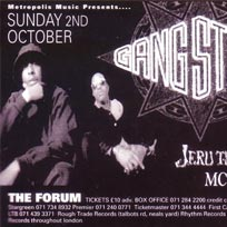 Gang Starr at The Forum on Sunday 2nd October 1994