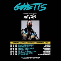 Ghetts at The Forum on Saturday 14th March 2020