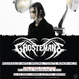 Ghostemane at Electric Brixton on Thursday 11th February 2021