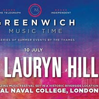 Lauryn Hill at Old Royal Naval College on Friday 10th July 2020