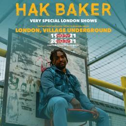 Hak Baker at Village Underground on Monday 20th September 2021