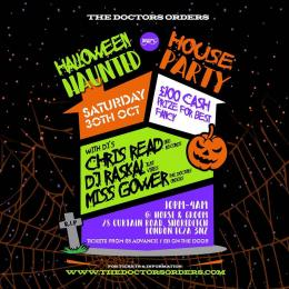 Halloween Haunted House Party at Horse & Groom on Saturday 30th October 2021