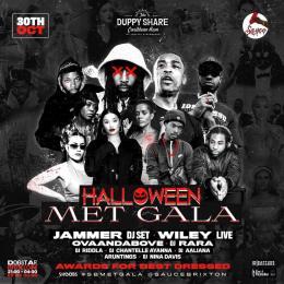 Halloween Met Gala: Jammer DJ Set + Wiley Live at Dogstar on Saturday 30th October 2021