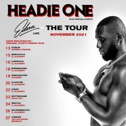 Headie One at Wembley Arena on Saturday 27th November 2021