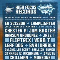 High Focus Summer Party at Electric Ballroom on Friday 22nd July 2016