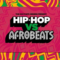 Hip-Hop vs Afrobeats at Concrete on Saturday 18th January 2020