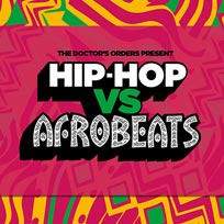 Hip-Hop vs Afrobeats at Concrete on Saturday 21st December 2019