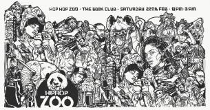 Hip Hop Zoo at Book Club on Saturday 22nd February 2020