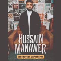 Hussain Manawer at Islington Academy on Fri 17th Jul 2020