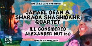 Jamael Dean & Sharada Shashidhar Quartet at Colours Hoxton on Sunday 7th November 2021