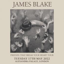 James Blake at Alexandra Palace on Tuesday 17th May 2022