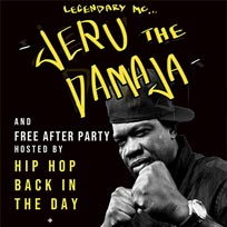 Jeru The Damaja at Archspace on Wednesday 9th May 2018