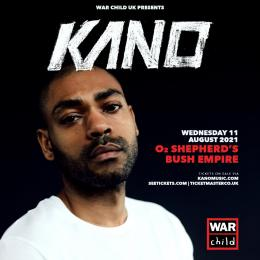 Kano at Shepherd's Bush Empire on Wednesday 11th August 2021