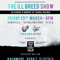 Kashmere, Verb-T & Fliptrix at Nambucca on Friday 25th March 2016