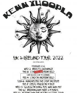 KennyHoopla at Underworld on Thursday 3rd February 2022
