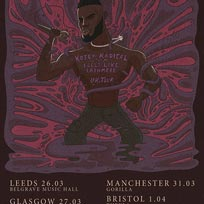 Kojey Radical at The Roundhouse on Thursday 2nd April 2020