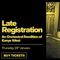 Late Registration at XOYO on Thursday 23rd January 2020