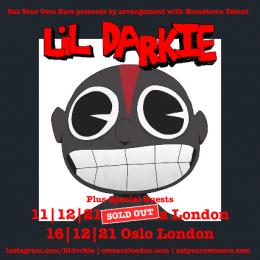 Lil Darkie at Oslo Hackney on Thursday 16th December 2021