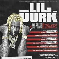 Lil Durk at The Troxy on Monday 3rd February 2020