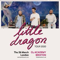 Little Dragon at Brixton Academy on Thursday 26th March 2020