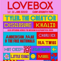 Lovebox Friday at Gunnersbury Park on Friday 12th June 2020
