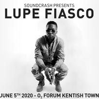 Lupe Fiasco at The Forum on Friday 5th June 2020