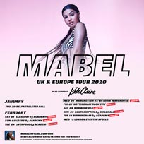 Mabel at Hammersmith Apollo on Wednesday 12th February 2020
