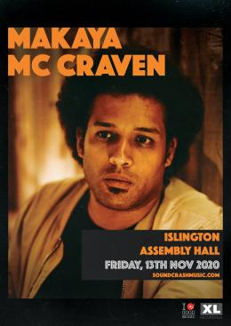 Makaya McCraven at Islington Assembly Hall on Friday 13th November 2020
