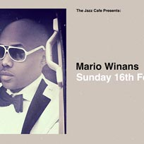 Mario Winans at Jazz Cafe on Sunday 16th February 2020