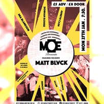MOEPresents at The Ritzy on Monday 27th January 2020