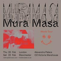 Mura Masa at Alexandra Palace on Thursday 20th February 2020